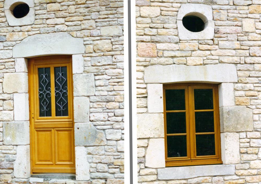 encadrement de porte encadrements de fen tres et portes en pierre bourgogne. Black Bedroom Furniture Sets. Home Design Ideas